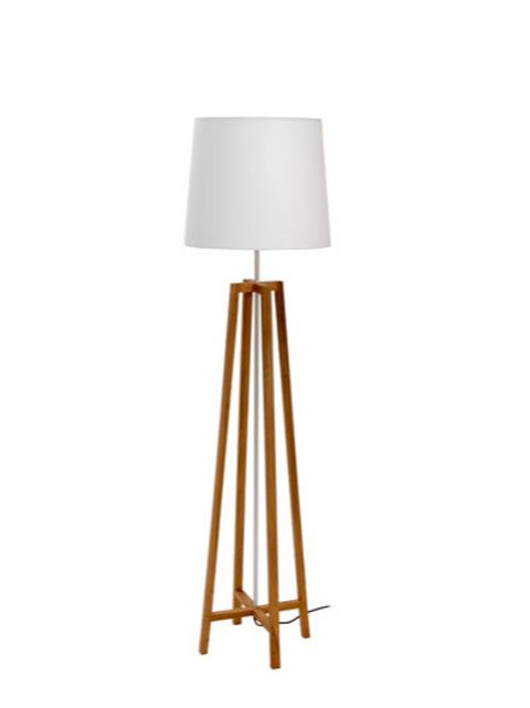Cross Floor Lamp - Natural