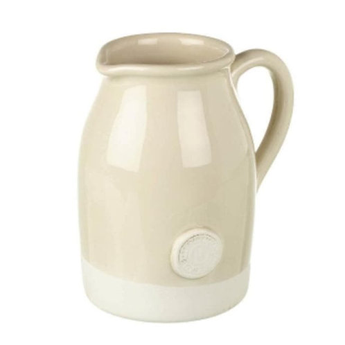 Ceramic Cream Artisan Jug