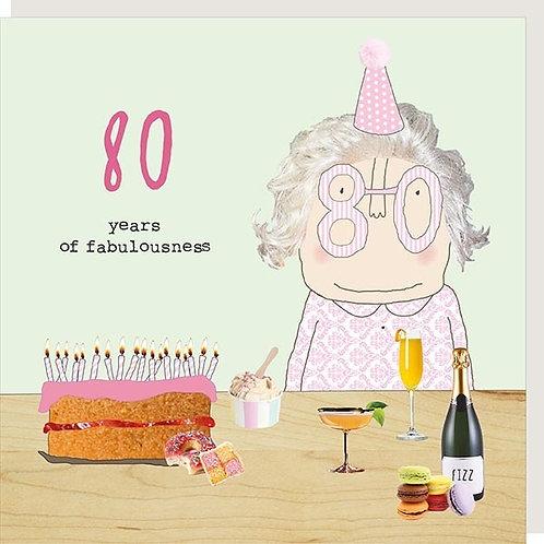 80 years of Fabulousness