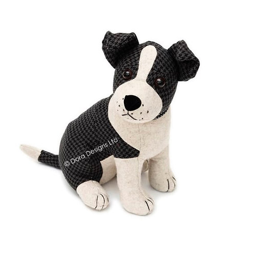 Jett the Collie Dog Doorstop