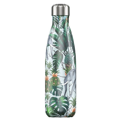 Tropical Elephant 500ml Chilly's Water Bottle