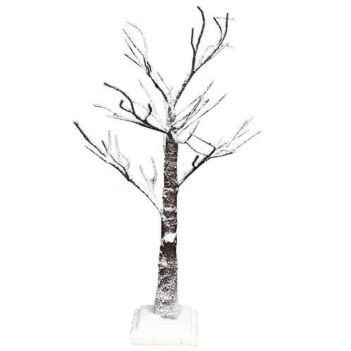 Natural/Snowy Twig Tree 70cm