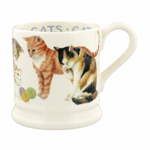 Cats Cats All Over 1/2 Pint Mug
