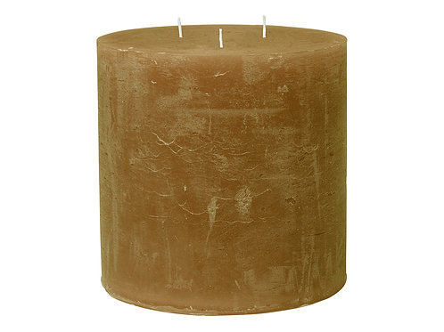 Rustic Amber Candle  (15x15cm)