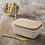 Thumbnail: Enamel Butter Dish in White