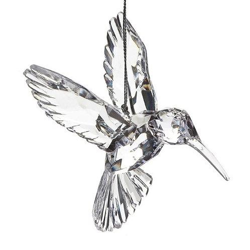Clear Acrylic Hummingbird