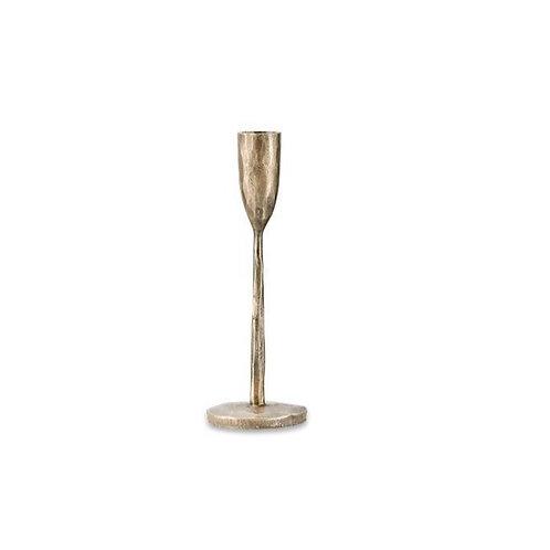 Mbata Brass Candlestick - Antique Brass - Small