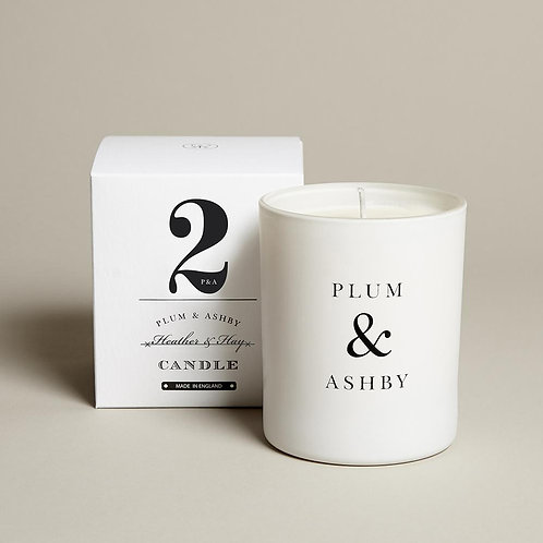Heather and Hay Candle