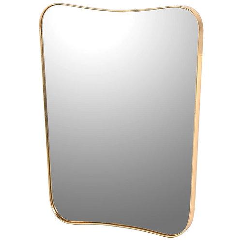 Rectangular Gold Shaped Mirror
