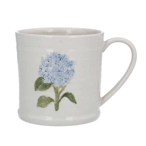 Blue Hydrangea Ceramic Mug