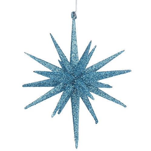 Blue Bethlehem Star