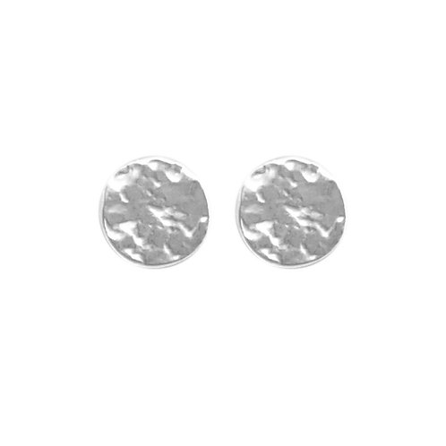 AUDREY POST EARRING SILVER PLATING