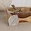 Thumbnail: Leaf Pewter Key Ring