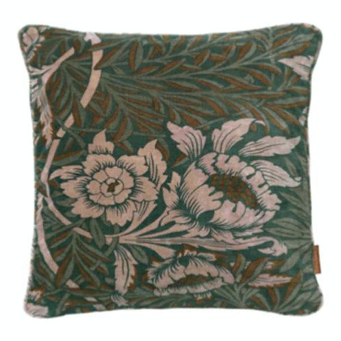 Velvet Flower Cushion