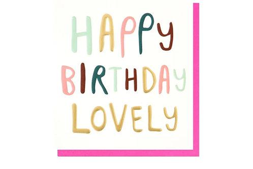Happy Birthday Lovely Birthday Card