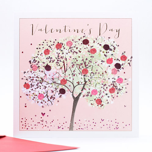 Belly Button Valentine Tree