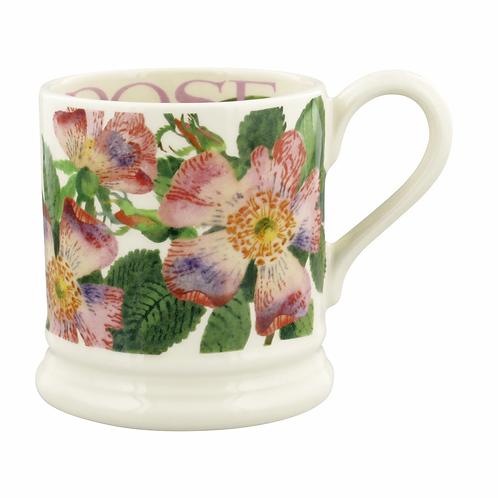 Flowers Dog Rose 1/2 Pint Mug