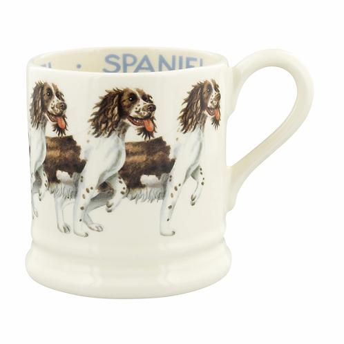 Dogs Brown & Cream Spaniel 1/2 Pint Mug