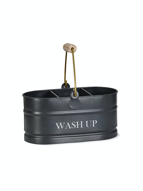 Steel Wash Up Tidy With Handle