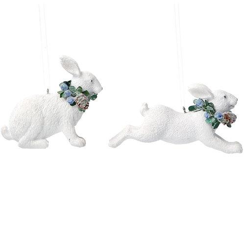 White Rabbit with Eucalyptus 2 Assorted