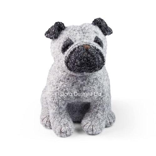 Puggles Pug Dog Doorstop