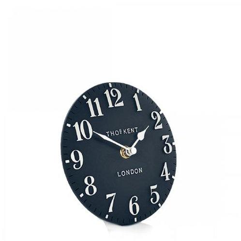 "6"" Arabic Mantel Clock Ink"