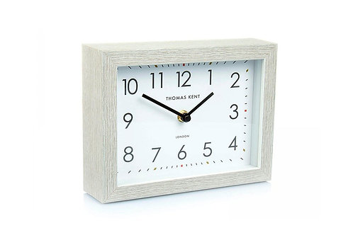 "7"" Smithfield Mantel Clock Silver Birch"