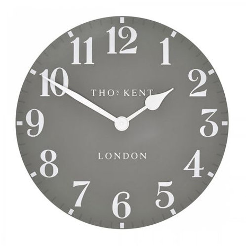 "20"" Arabic Wall Clock Dolphin"