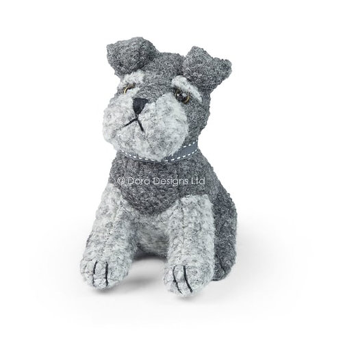 Sugar Bear Junior Schnauzer Dog Paperweight