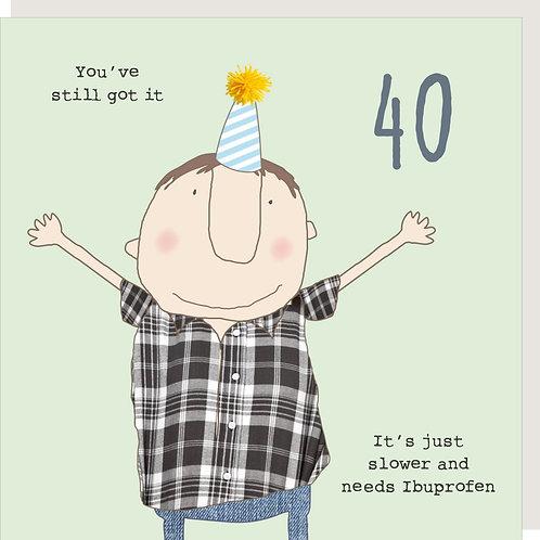 Boy 40 Ibuprofen