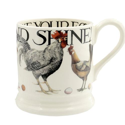 Rise & Shine 1/2 Pint Mug How Do You Like Your Eggs?