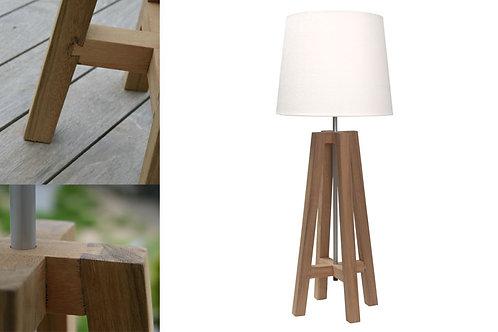 Cross Table Lamp - Natural