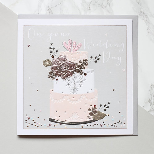 On Your Wedding Day Cake