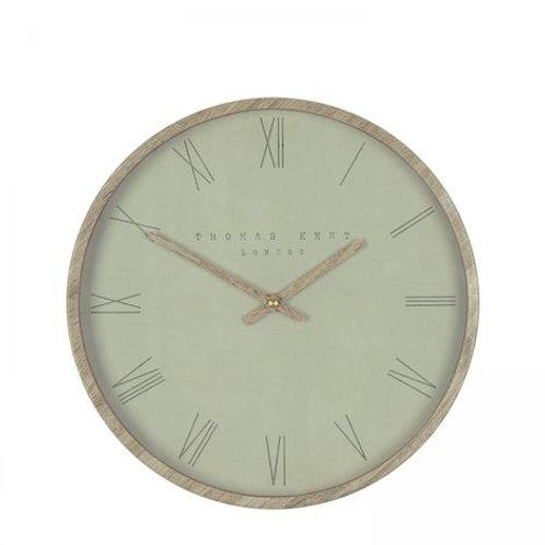 12″ Nordic Wall Clock Olive – Thomas Kent