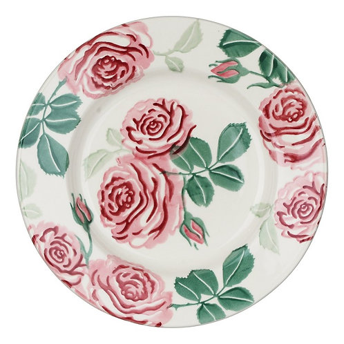 Emma Bridgewater Pink Roses 8 ½ Inch Plate