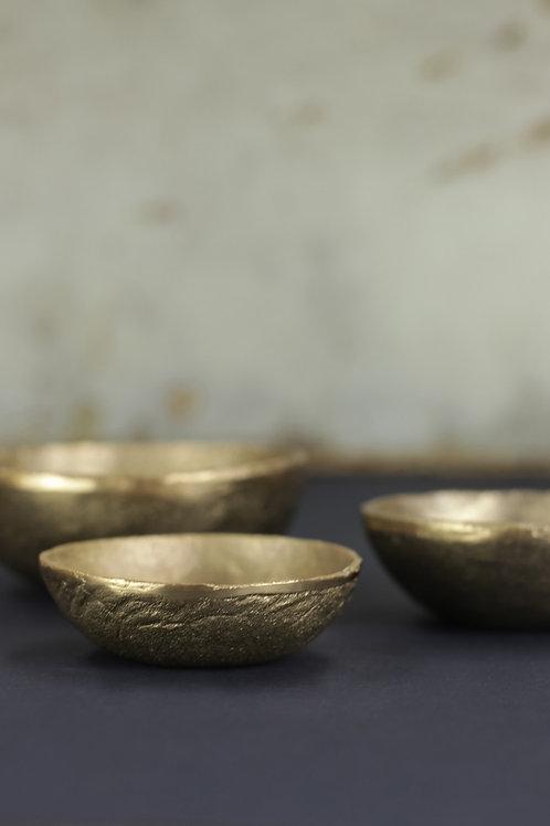 Jahi Gold Bowl - Brushed Gold