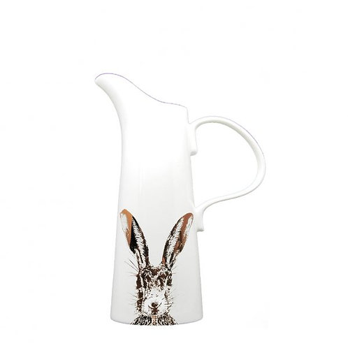 Gold Sassy Hare - Large Jug (25cm high)
