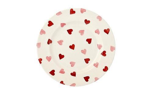 Emma Bridgewater Pink Hearts 8 1/2 Inch Plate