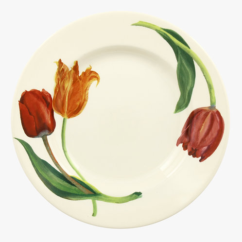 Flowers Tulips 10 1/2 Inch Plate