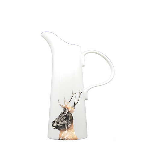 Gold Imperial Stag - Large Jug (25cm high)