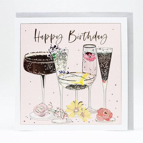 Happy Birthday Cocktails