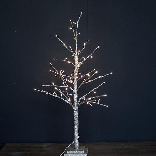 Tall Glitter LED Tree