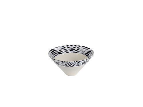 Indigo Drop Serving Bowl Small