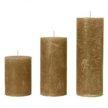 Rustic Amber Candle  (10x15cm) Small