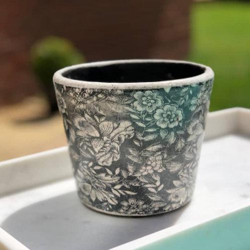 Dutch Style Plant Pot Cover Black