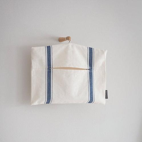 Cotton Striped Peg Bag