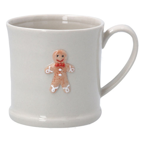 Ceramic Mini Mug - Gingerbread Man