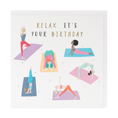 Birthday Relax Yoga
