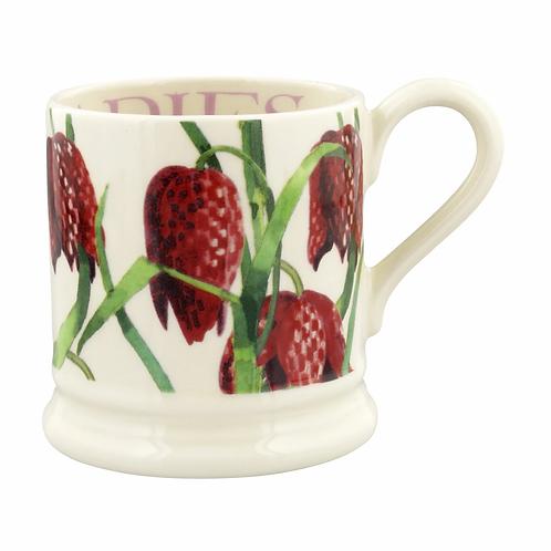 Flowers Snakeshead Fritillary 1/2 Pint Mug