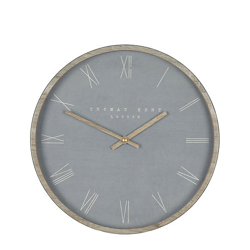 12″ Nordic Wall Clock Cement – Thomas Kent